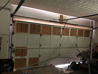 Damaged And Dented Garage Door | Garage Door Repair Millcreek, UT